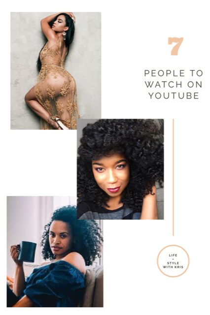 7 People to Watch on YouTube
